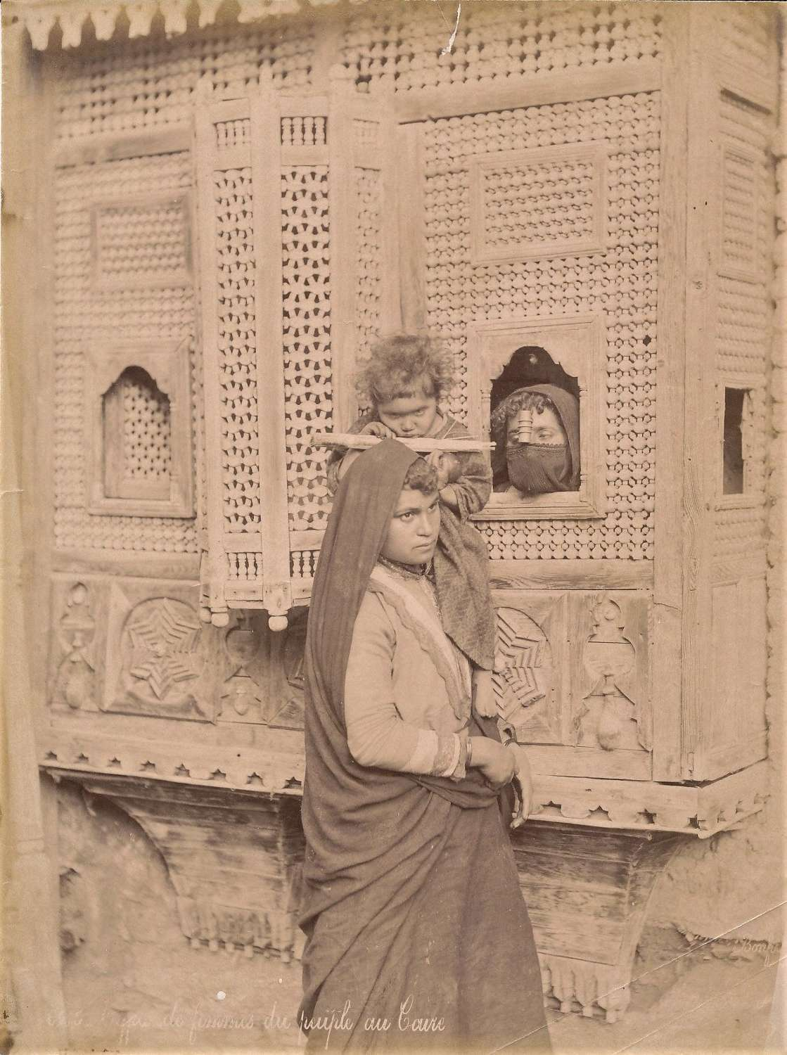 Mother & Child Egypt Middle East C1880