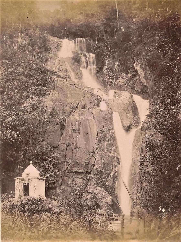 Hindu Shrinewaterfall Penang Malaysia C1885