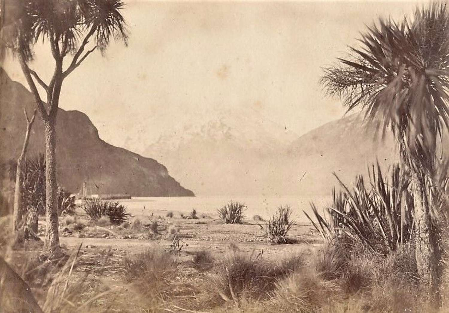 Lake  Wakatipu  New Zealand C1875