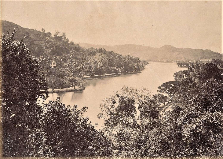 River SceneCeylon By ApothecariesC1870