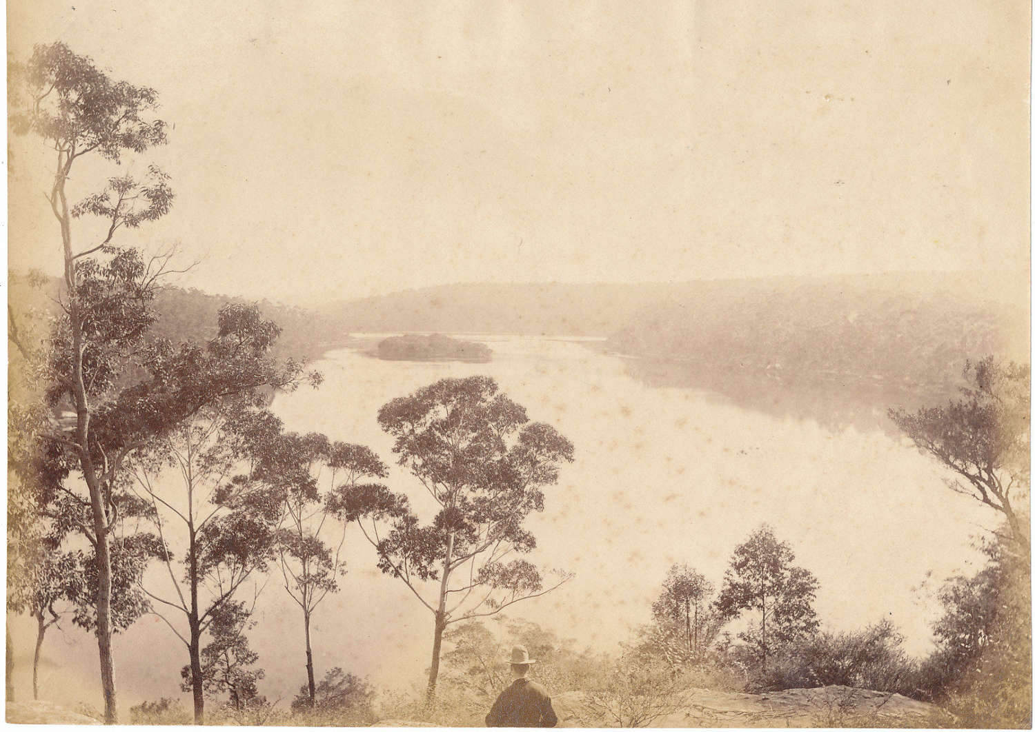 View of  Australia Sydney By John Paine C1880