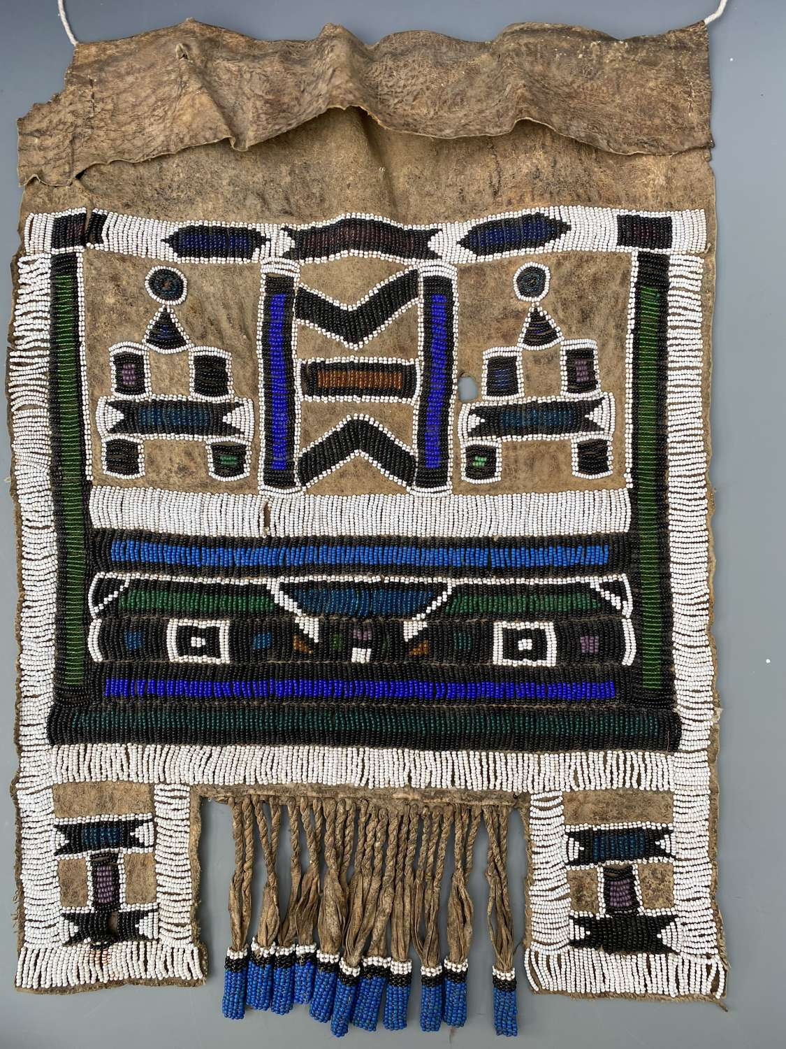Ndbele Beaded Apron South Africa