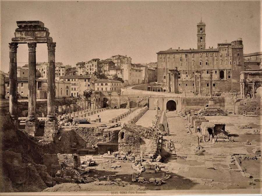 Rome Foro Romano Italy C1875