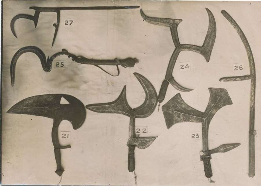 Oldman's Illustrated Catalogue of Ethnographical Specimens